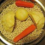 fasole, morcov, telina, ceapa