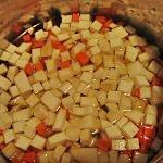 morcov si telina cubulete