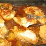 Pui cu rozmarin si curry la cuptor
