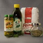 Ingrediente focaccia rozmarin