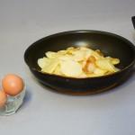 Ingrediente omleta cu chipsuri