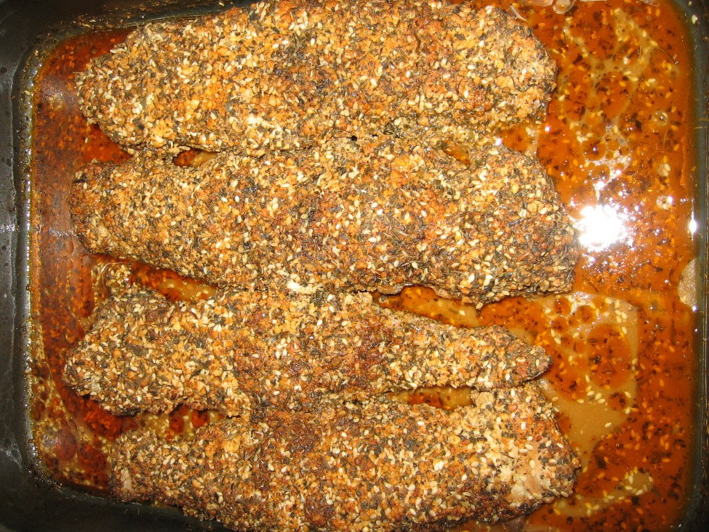 Muschiulet de Porc in crusta de condimente