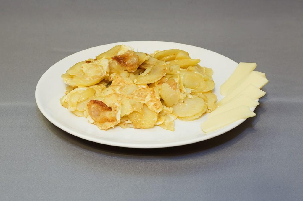 Omleta cu chipsuri