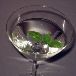 Basil Martini Cocktail