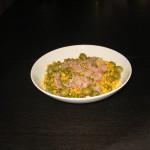 Salată de ton cu porumb și măsline
