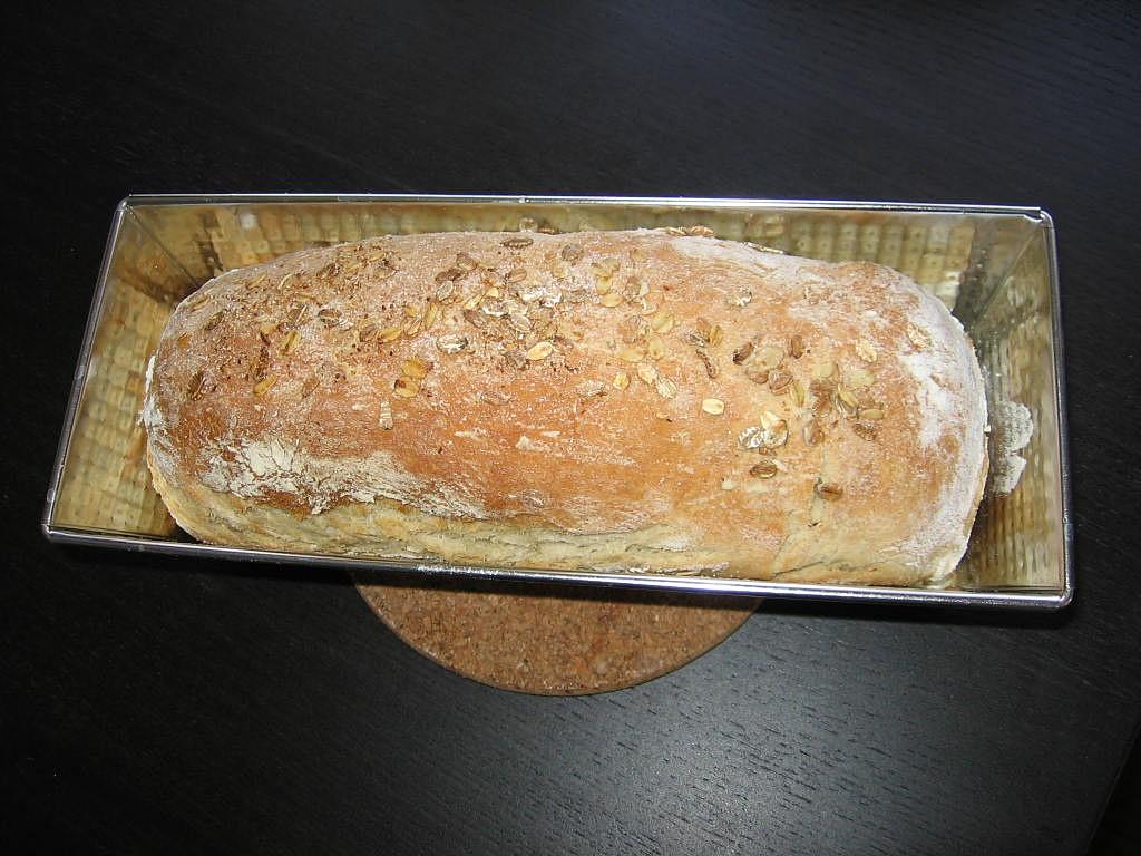 Pâine cu fulgi de secară
