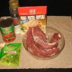 Muschiulet de porc cu rosii decojite