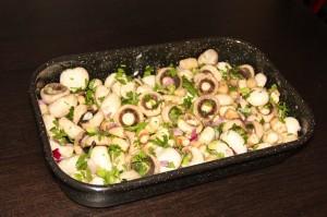 Ciupercute cu ceapa