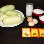 Ingrediente gogosi cu dovlecei