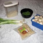 Ingrediente orez cu caju