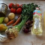 Ciorba cu legume si telina
