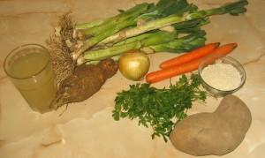 Ingrediente ciorba de praz
