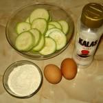 Ingrediente Dovlecei pane