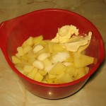 Ingrediente pasta de cartofi cu usturoi