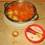 Legume fierte supa de morcovi