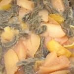 Mâncare cu gutui și carne de vită