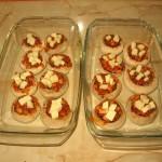 Preparare umplute ciupercute la cuptor