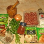 Ingrediente kebab marocan