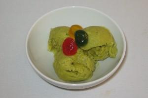 Inghetata avocado verde