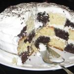 Sectiune tort tabla de sah