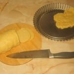 Aranjare aluat de tarta