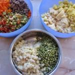 Legume pentru salata boeuf