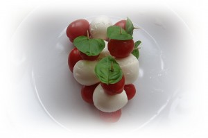 Mozzarella antipasti