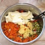 Pregatire salata boeuf