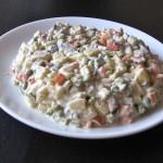 Salata boeuf cu maioneza
