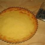 Tarta cu vanilie decorata cu afine