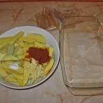 Cartofi cu rozmarin si usturoi in punga