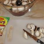 Ciuperci pentru ciorba de dovlecei