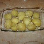 Garnitura cartofi pentru miel
