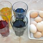 Oua vopsite pentru Paste