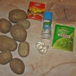 Reteta Cartofi cu usturoi si rozmarin