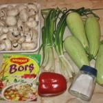 Reteta ciorba de dovlecei cu ciuperci