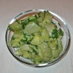 Salată de dovlecei cu usturoi