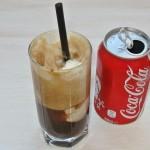 Cola frappe cu frișcă