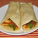 Tortillas mexicane cu pui