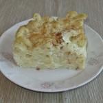 Macaroane cu brânză