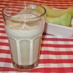 Milk shake de pepene galben