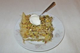 Kunefe - prajitura turceasca cu branza