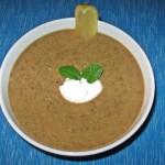 Supă cremă de linte verde