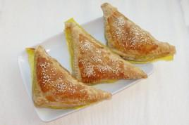 Trigoane cu brânză sau Foietaj cu brânză