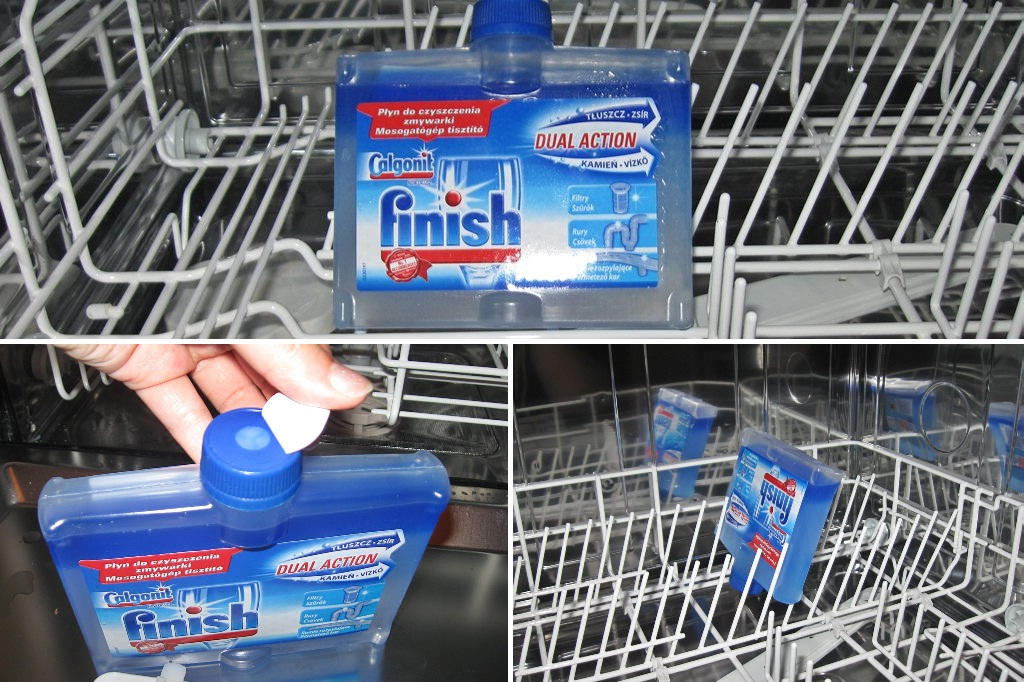 Solutie curatare finis pentru masina de spalat vase