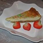 Cheesecake cu mascarpone şi vanilie de Madagascar