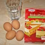 Blat tort Biskuitteig Dr. Oetker Austria