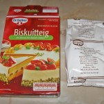 Continut cutie blat tort Biskuitteig Dr. Oetker Austria