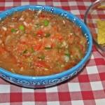 Salsa mexicana pentru nachos