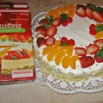 Tort Biskuitteig Dr. Oetker Austria